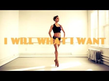 Misty Copeland - I Will What I Want